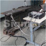 高铁基础焊接与装配应力检测