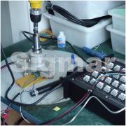 航空硅铝接线盒残余应力检测